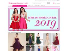 Variété de robes de soirée courtes sur robedesoireecourte
