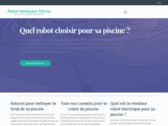 Détails : Robot Nettoyeur Piscine