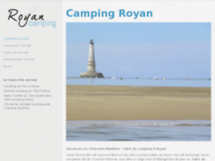 Détails : camping Royan