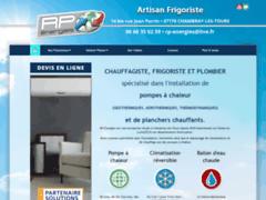 Création du site Internet de RP-Energies (Entreprise de Chauffagiste à CHAMBRAY-LES-TOURS )