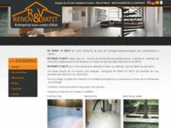 Création du site Internet de Rv Renov et Batit (Entreprise de Carreleur à MANDELIEU LA NAPOULE )
