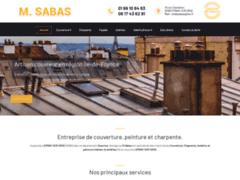 Création du site Internet de M. Sabas (Entreprise de Couvreur à EPINAY SUR ORGE )