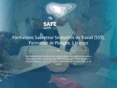 Détails : Safe with us, formations de secourisme et de plongée sur Nantes et la région Loire-Atlantique