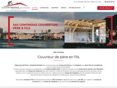Création du site Internet de SAS CONTRERAS Couverture Père & Fils (Entreprise de Couvreur à TOULON )