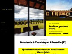 Création du site Internet de Alternative Menuiserie (Entreprise de Menuisier à MERCURY )