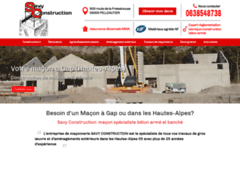 SAVY CONSTRUCTION: Maçon à PELLEAUTIER