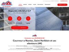 SC Couverture: Couvreur charpentier à COUERON