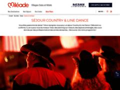 Détails : Séjours de danse country – Vacanciel