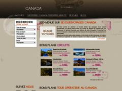 Détails : voyages Canada