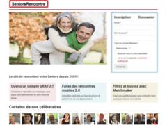 Détails : Seniors Rencontre .com - Le site des rencontres entre seniors
