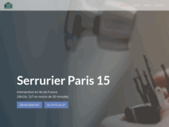 Détails : Serrurier Paris 15 - Service Professionnel en Moins de 30 Min - 75015