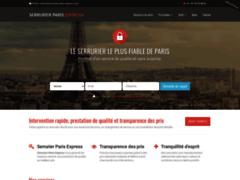 Serrurier Paris Express : votre serrurier de confiance