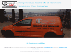 Détails : Open-All : serrurier professionnel à Liège