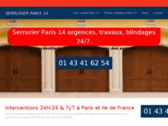 Détails : Serrurier Paris 14