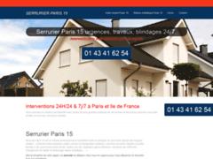 Détails : Serrurier Paris 15
