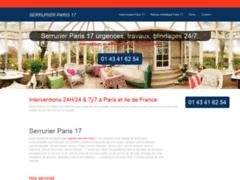 Détails : Serrurier Paris 17