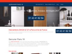 Détails : Serrurier Paris 18