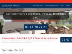 Serrurier Paris 6