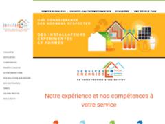 Création du site Internet de Services Energies (Entreprise de Chauffagiste à VILLENEUVE D'ASCQ )