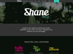 SHANE PROD - Location de matériel audiovisuel professionnel