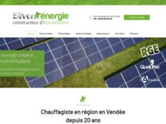 Création du site Internet de SILVER ENERGIE (Entreprise de Chauffagiste à LE POIRE-SUR-VIE )