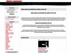 Détails : Annuaire automatique Simple annuaire