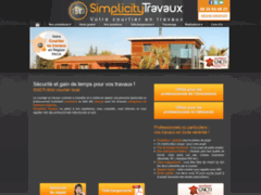 Création du site Internet de SIMPLICITY TRAVAUX (Entreprise de Courtier en travaux à ST ETIENNE LES ORGUES )
