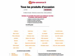Détails : Les bonnes occasions de France à une seule adresse : Site-annonce.fr
