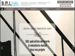 Création du site Internet de Société SML (Entreprise de Serrurier à PUTTELANGE AUX LACS )