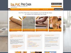 Création du site Internet de SOL PVC PAS CHER (Entreprise de Grossiste matériaux à ESTRABLIN )