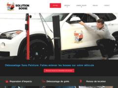 Détails : Entreprise de débosselage sans peinture pour auto et camion