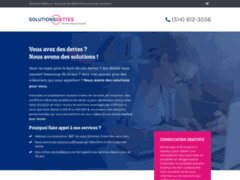 Site Détails : Solutions-Dettes - Vous avez des dettes ?  Nous avons des solutions !
