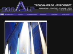 Création du site Internet de SONALP (Entreprise de Magasin de musique à CHATEAUVIEUX )