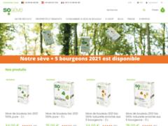 Sosève, boutique en ligne de sève de bouleau 100% bio et pure