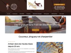 Création du site Internet de Entreprise SOUBEYRAND (Entreprise de Couvreur à LA SAULCE )