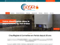 Création du site Internet de STAC ENERGY (Entreprise de Plombier à CORMEILLES-EN-PARISIS )
