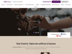 Détails : Star Event's, Salon de coiffure à Cannes