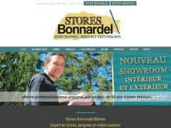 Création du site Internet de SARL STORES BONNARDEL (Entreprise de Veranda, terrasse à GAP )