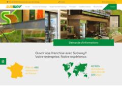 Détails : Ouvrir une franchise rentable en restauration rapide avec Subway®