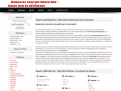 Détails : Identité Web Lorraine Super One