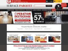 Site Détails : Surface Parquet - Des Parquets de Fabrication Française et Européenne
