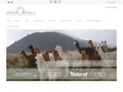 Détails : Boutique en ligne de Sweet Alpaga