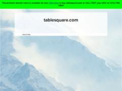 Détails : TbaleSquare: portail des restaurants du monde