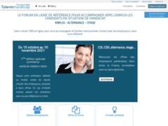 Détails : Talents Handicap, meilleur forum en ligne pour les travailleurs handicapés