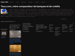 Détails : Taux.com comparateur de crédit en ligne