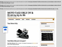 Détails : Taxi Moto Paris - Réservation Moto Taxi Paris