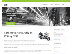 Détails : Service de taxi moto à Paris