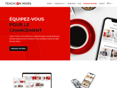 Détails : Teach On Mars, Plateforme de formation mobile et microlearning