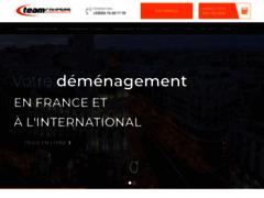 Création du site Internet de T.E.A.M COURSES INTERNATIONAL (Entreprise de Gestionnaire de biens à  OYONNAX )