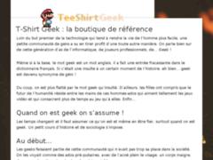 Détails : Les meilleurs tee-shirts pour geeks